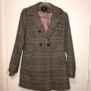 H&M Herringbone Coat